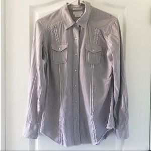 Ariat western shirt with rhinestone embellishments